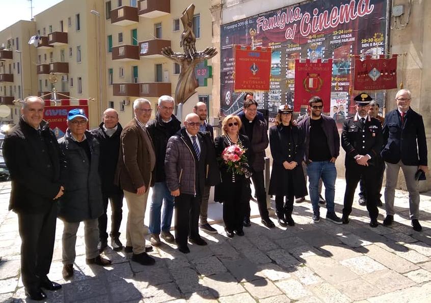 Inaugurazione monumento al donatore Putignano